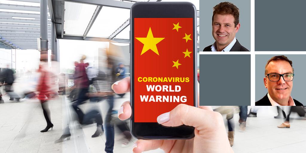 Coronavirus LInked in image