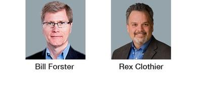 Bill Forster & Rex Clothier