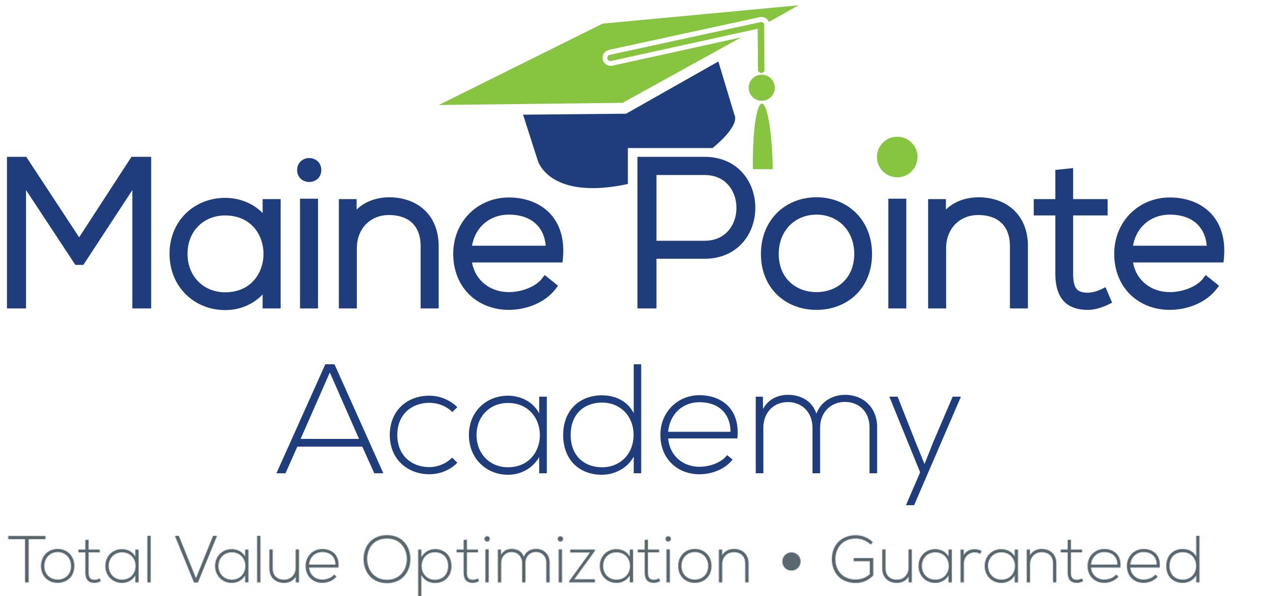 Maine Pointe Academy Logo Strap new 1