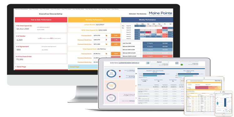 Maine Pointe Visualization Platform