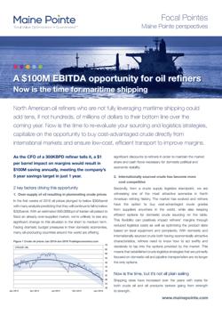 $100M EBITDA Opportunity