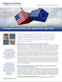 Five supply chain optimisation initiatives European executives can implement right now thumbnail-620187-edited