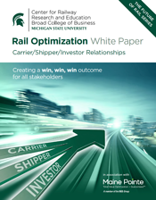 MSU Rail Optimization Thumbnail
