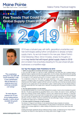 SK Supply Chain Predictions 2019 Thumbnail