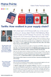 Tariffs how resilient is your supply chain thumnail