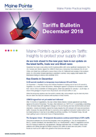 December Tariffs Bulletin Thumbnail