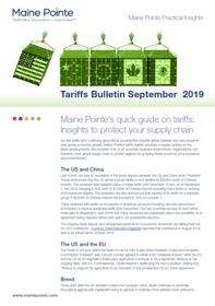 Tariff September 2019 Thumbnail